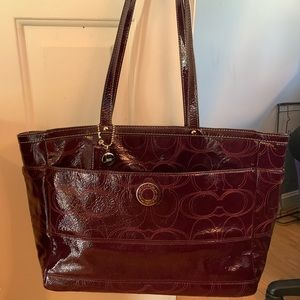 Perfect condition Coach extra large tote